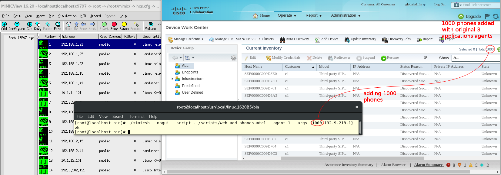 Cisco C210 UCS Server Simulation With VOIP Applications